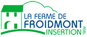Logo La ferme de Froidmont insertion